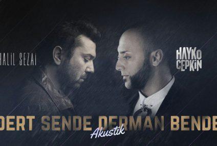 Halil Sezai und Hayko Cepkin auf einer Bühne